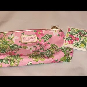 💰Lilly Pulitzer for Estée Lauder makeup bag!